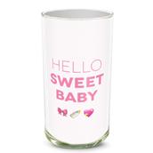 Baby Girl Emoji Vase