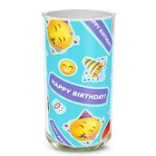 Birthday Emoji Vase