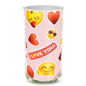I Love You Emoji Vase