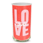 Love You Vase
