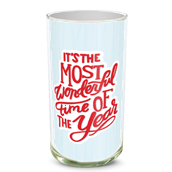 Most Wonderful Time Vase